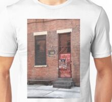 Brooklyn, New York, 126 Front Street Unisex T-Shirt