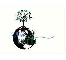 One Earth Art Print