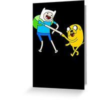 Adventure Time - Bro Fist Greeting Card