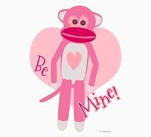 Valentine Sock Monkey Unisex T-Shirt