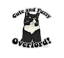 Cute Fuzzy Overlord Photographic Print