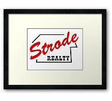 Strode Realty Framed Print