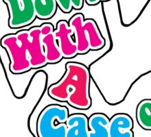 A Case of Jazz Hands Sticker