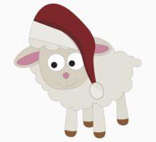 Christmas Lamb Kids Tee