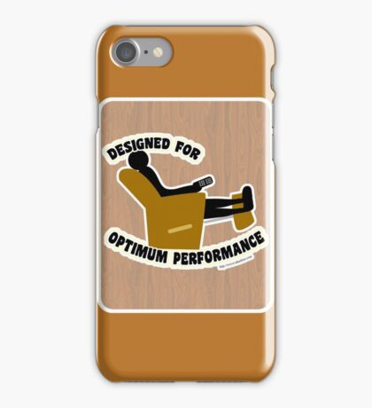 Optimum Performance iPhone Case/Skin