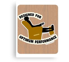 Optimum Performance Canvas Print