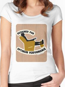 Optimum Performance Women's Fitted Scoop T-Shirt