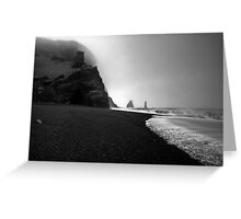 Reynisfjara Beach and the Trolls Greeting Card