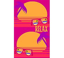 Relax at Sunset Photographic Print