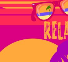 Relax at Sunset Sticker