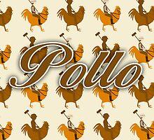 Pollo Pattern  by mytshirtfort