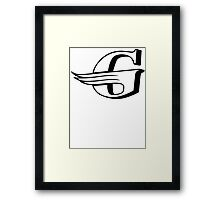 Gloster Aircraft Company Logo Framed Print