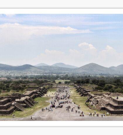 Teotihuacan, México landscape Sticker