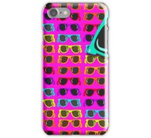 Neon 80's Rainbow Shades iPhone Case/Skin