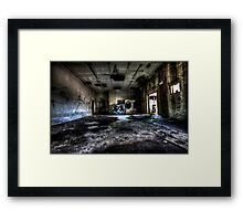 The Wash Room Framed Print