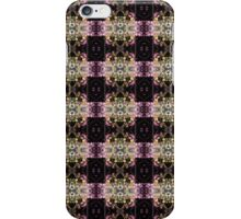 red Malus 'Radiant' crab apple blossoms #5 pattern iPhone Case/Skin