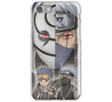 Tobi & Kakashi iPhone Case/Skin