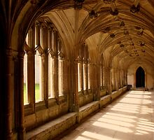 Lacock Abbey, Wiltshire. - Harry Potter Film Locations by Merlin72
