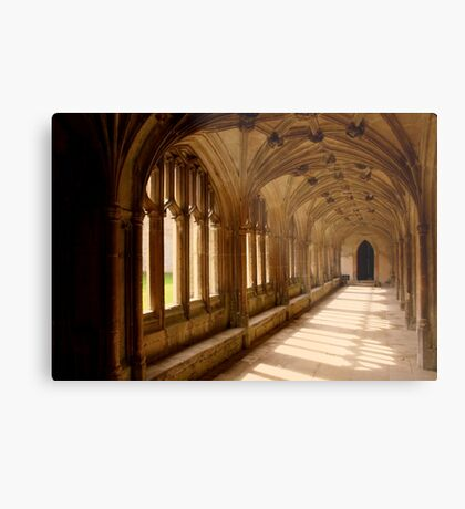 Lacock Abbey, Wiltshire. - Harry Potter Film Locations Metal Print