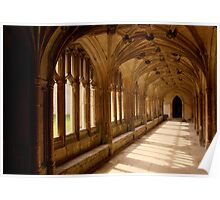 Lacock Abbey, Wiltshire. - Harry Potter Film Locations Poster