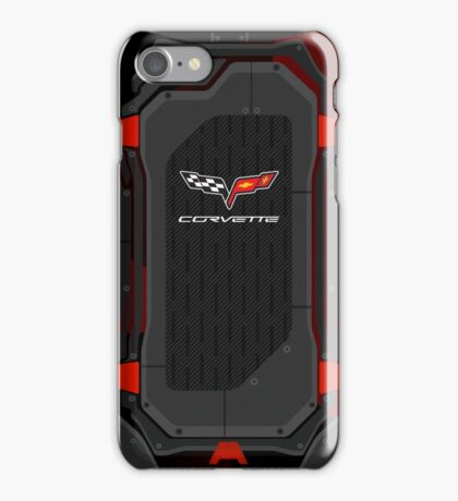 Chevrolete Corvette carbon fiber edition iPhone Case/Skin