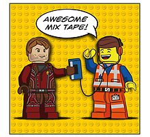 Awesome LEGO Mix Tape by mellowmind