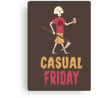 Casual Friday Canvas Print