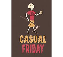 Casual Friday Photographic Print