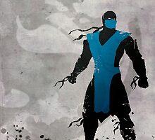 Mortal Kombat Inspired Sub-Zero Poster  by graphicninja