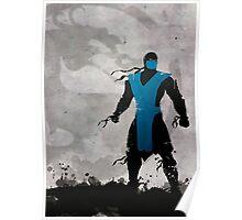 Mortal Kombat Inspired Sub-Zero Poster  Poster