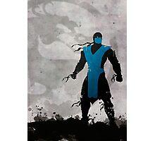 Mortal Kombat Inspired Sub-Zero Poster  Photographic Print