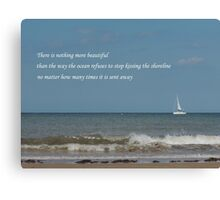 Shoreline Devotion Canvas Print