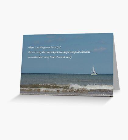 Shoreline Devotion Greeting Card