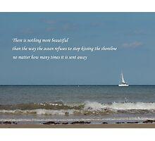 Shoreline Devotion Photographic Print