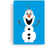 Olaf from Frozen Canvas Print