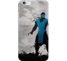 Mortal Kombat Inspired Sub-Zero Poster  iPhone Case/Skin