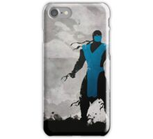 Mortal Kombat Inspired Sub-Zero Poster  iPhone Case/Skin
