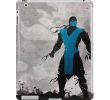 Mortal Kombat Inspired Sub-Zero Poster  iPad Case/Skin