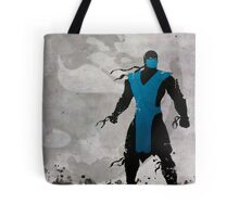 Mortal Kombat Inspired Sub-Zero Poster  Tote Bag
