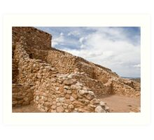 Tuzigoot Indian Ruins Art Print