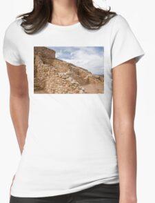 Tuzigoot Indian Ruins Womens Fitted T-Shirt