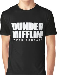 Dunder Mifflin Paper Co. T-Shirt Graphic T-Shirt