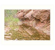 Red Rock National Park Art Print