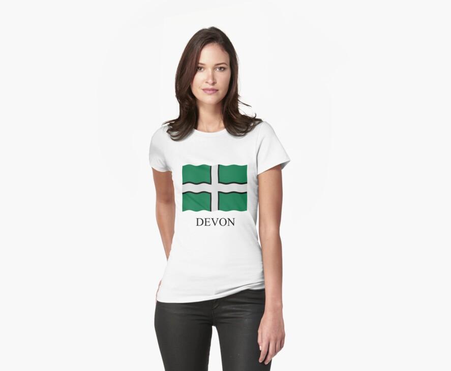 Devon flag by stuwdamdorp