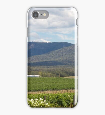 Hunter Valley Wine Region New South Wales iPhone Case/Skin