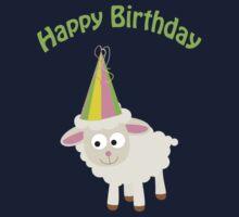 Happy Birthday Lamb Kids Clothes