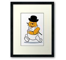 A Clockwork Pooh Framed Print