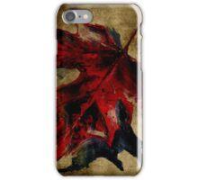 Canadian Maple Leaf Fall Edit iPhone Case/Skin