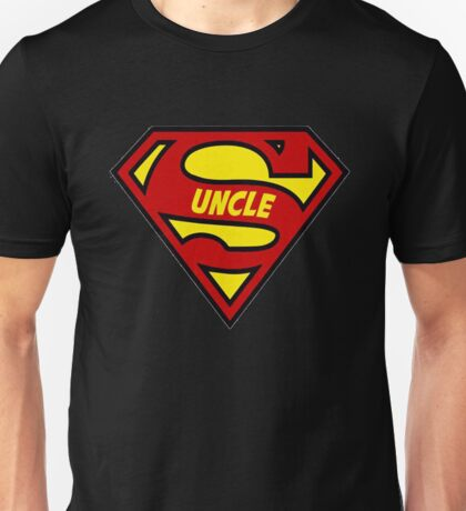 Super Uncle T-Shirt Unisex T-Shirt