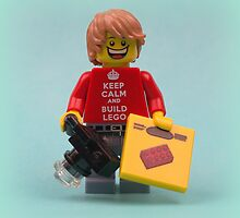 Keep Calm And Build Lego  by minifignick